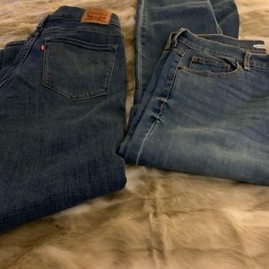 Levi's and Old Navy jeans